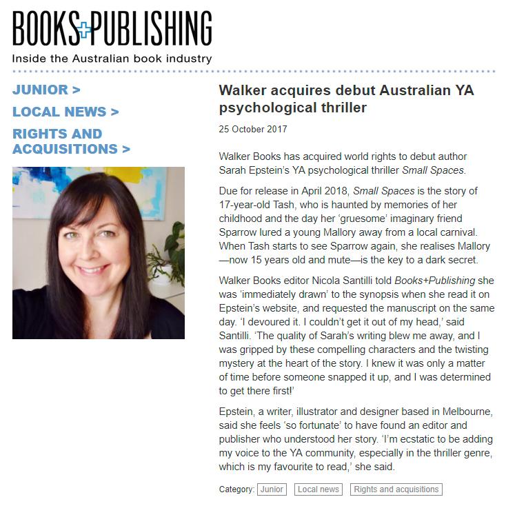 Books+Publishing acquisition announcement