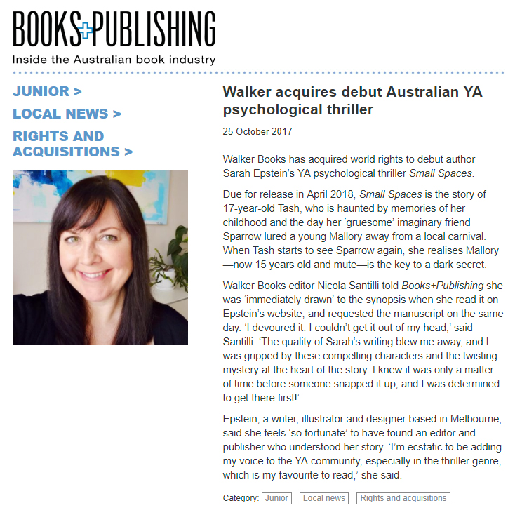 Books+Publishing acquisition announcement