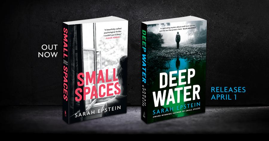 Sarah Epstein books home page